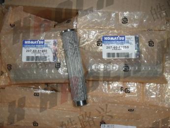 河北长安石化标准现货小松挖掘机液压泵滤芯PC360-7 高度144
