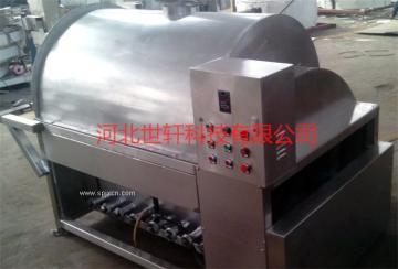 厂家直供大型自动化滚筒式辣椒干炒机