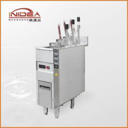 英迪尔厂家直销商用自动升降三头煮面炉 多功能自动电热汤面炉