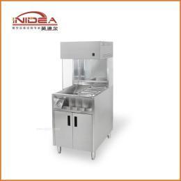 英迪尔厂家批发直销1米台式薯条保温柜 展示柜 炸鸡汉堡店设备