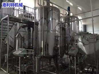 海棠果水蜜桃芒果猕猴桃酵素加工生产线设备
