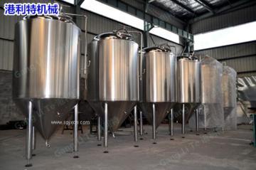清酒罐 贮酒罐 啤酒罐 发酵储酒罐 不锈钢罐,结晶釜
