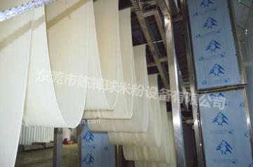 云南米線的陳輝球米粉生產線產能800kg一小時