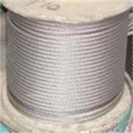 7*7结构   12毫米304不锈钢软钢丝绳热处理加工