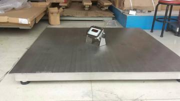周浦3吨不锈钢电子地磅秤防水地磅秤,小地磅价格