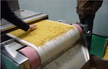 杂粮微波干燥熟化设备