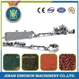 高效雙螺桿膨化飼料顆粒機 水產飼料膨化機生產廠家