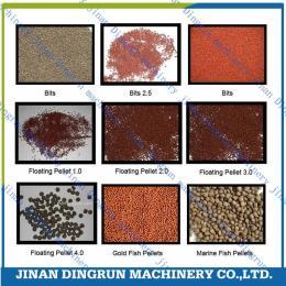 鼎润机械DSE大型浮水鱼饲料生产设备鱼饲料生产设备鱼饲料膨化机
