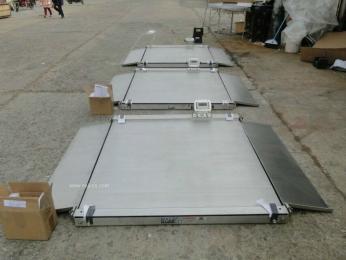 厂家供应不锈钢电子地上衡防水地上衡,宝山地磅价格