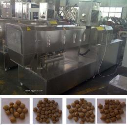 鼎潤機械膨化狗糧生產線