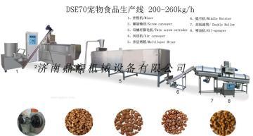 膨化饲料机械宠物食品机械狗粮生产线