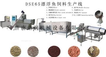 大型濕法魚飼料膨化飼料顆粒機 水產飼料膨化機 飼料設備