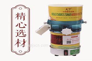 重庆天下电动石磨豆浆机 现磨豆浆米浆多功能干湿两用