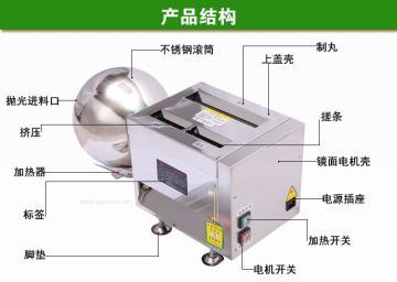 診所專用小型制丸機/中藥粉制丸機/小型水蜜丸制丸機