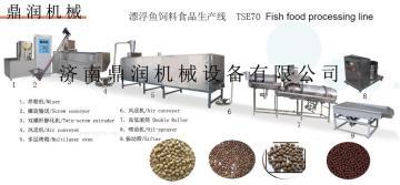 济南鼎润机械漂浮鱼饲料生产线
