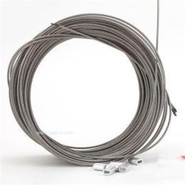 7*7结构、深圳304不锈钢包胶钢丝绳加工