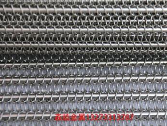 河北建岭链条网带 螺旋式网带 金属网带厂