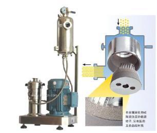 SGN无机材料纳米高速研磨机分散机