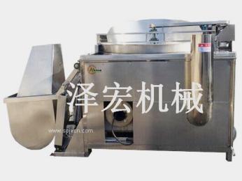 泽宏机械ZHRQ-燃气半自动油炸机