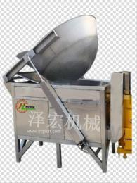 泽宏机械ZHFT-腰果专用封头油炸机