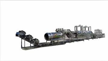 澤宏機械ZHLX-全自動連續油炸生產流水線