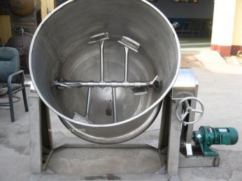 横轴下搅拌蒸煮锅