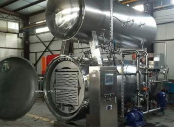 厂家供应全自动水浴回转 旋转式杀菌锅