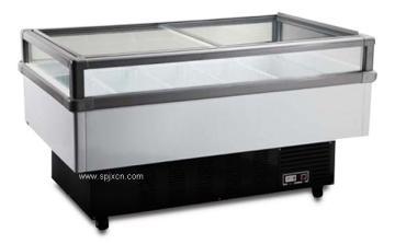 供應安德利設計美觀雙溫轉換冷凍島柜