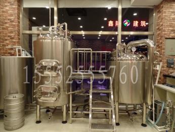 小型自酿啤酒设备 精酿啤酒机