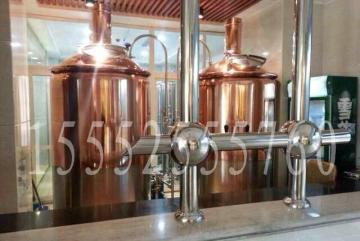 商用紫铜啤酒设备