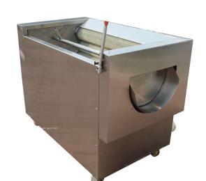 土豆清洗去皮机|专业去土豆皮机|大型土豆去皮机|毛刷去土豆皮机