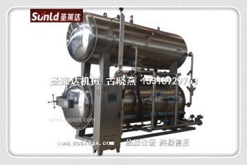 批發食品機械設備 殺菌鍋 綠豆蛋白飲料高溫高壓自動控制殺菌鍋