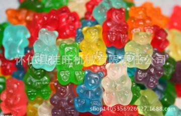 山西 橡皮糖浇注机 橡皮糖浇注生产线 糖果浇注机