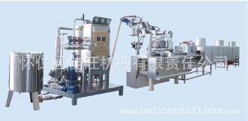 山西 硬糖浇注生产线 糖果浇注机//水果糖果生产机械/棒棒糖生产机器
