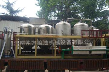 棉籽油精煉工藝/設備生產廠家
