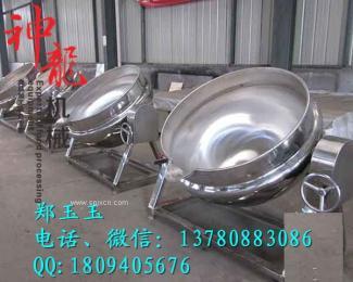 鱼豆腐夹层锅600升神龙供应