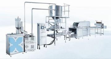 150自动米饭生产线、炊具、厨房设备、米饭线、米饭生产线、蒸饭机