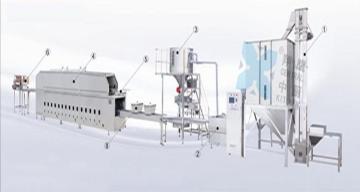 450自动米饭生产线、炊具、米饭生产线、厨房设备、食品设备、大米加工设备