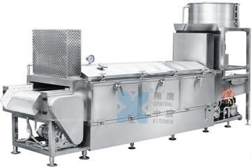 全自动蒸汽型米饭生产线、大米加工设备、米饭生产线、厨房设备、蒸饭机