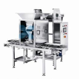 米饭分装机、自动分装机、厨房设备、大米加工设备、食品机械、自动米饭分装餐盒