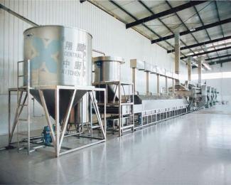 米饭连续蒸饭烘干线、蒸汽米饭线、米饭烘干线、厨房设备、炊具