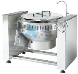 豪华型可倾燃气锅、熬煮锅、汤锅、商用锅、厨房设备、夹层锅