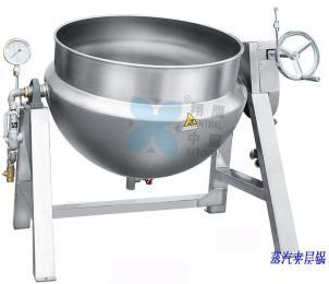 蒸汽夹层锅、汤锅、夹层锅、熬煮锅、商用锅、不锈钢锅