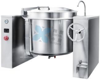 豪华型蒸汽夹层锅、汤锅、熬煮锅、商用锅、厨房设备、锅具