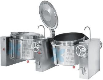 双面连体熬煮锅、汤锅、熬煮锅、商用锅、厨房设备、锅具