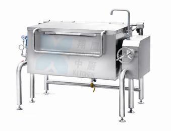 方形可倾蒸汽炒锅、炒菜机、炒菜锅、可倾炒锅、厨房设备、不锈钢锅