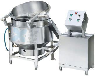 燃气自动液压翻转漂烫锅、自动漂烫锅、翻转锅、锅、厨房设备、
