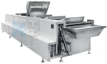 六斗自动翻转漂烫清洗机、清洗机、翻转清洗机、漂烫清洗机、自动清洗机、厨房设备