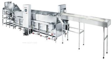 连续式自动煮面线、自动煮面机、厨房设备、熬煮锅、汤锅