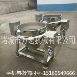 万宏机械500型电加热食品夹层锅 可立式夹层锅